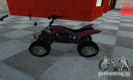 GTA 5 Blazer ATV для GTA San Andreas вид слева