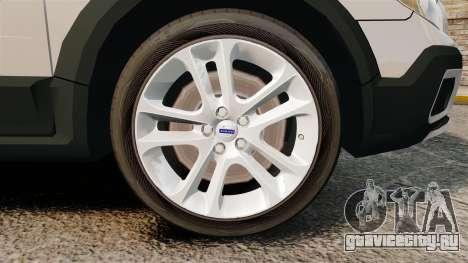 Volvo XC70 Unmarked [ELS] для GTA 4 вид сзади