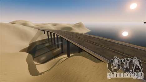 Локация Desert Highway для GTA 4 пятый скриншот