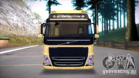 Volvo FM 2013 для GTA San Andreas вид сзади