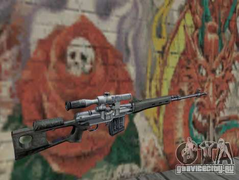 Снайперская винтовка из S.T.A.L.K.E.R. для GTA San Andreas второй скриншот