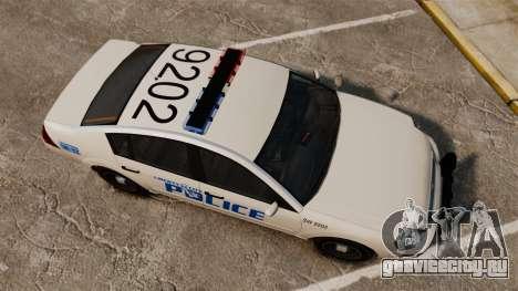 Pinnacle Police LCPD [ELS] для GTA 4 вид справа
