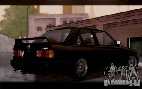 BMW M3 E30 Stock Version для GTA San Andreas вид сзади слева