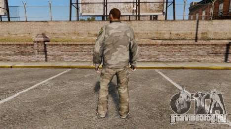 Городской камуфляжный костюм для GTA 4 второй скриншот
