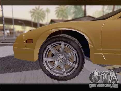 Acura NSX для GTA San Andreas двигатель