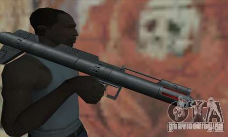 Ракетная установка из Star Wars для GTA San Andreas третий скриншот