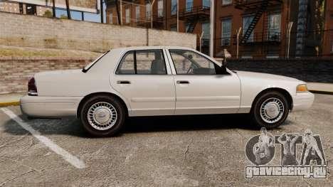 Ford Crown Victoria 1998 v1.1 для GTA 4 вид слева