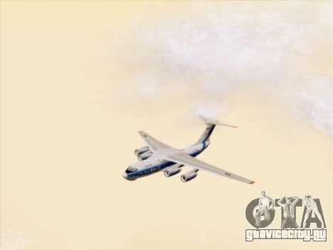 Ил-76ТД-90ВД Волга-Днепр для GTA San Andreas вид сбоку