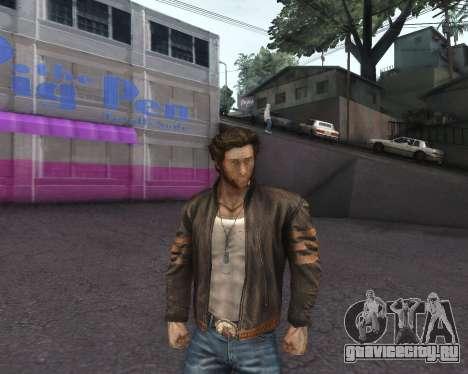 X-men Origins: Wolverine [Skins Pack] для GTA San Andreas четвёртый скриншот