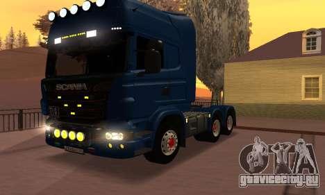 Scania Topline R730 V8 для GTA San Andreas