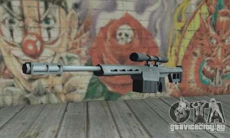 Снайперская винтовка из Saints Row 2 для GTA San Andreas