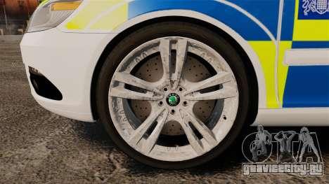 Skoda Octavia RS Metropolitan Police [ELS] для GTA 4 вид сзади