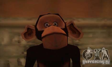 Шимпанзе для GTA San Andreas третий скриншот