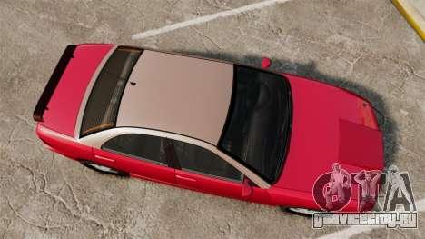 Chavos RSX для GTA 4 вид справа