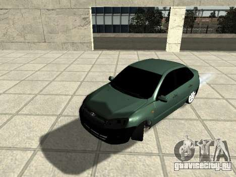 Lada Granta для GTA San Andreas вид слева
