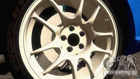 Subaru WRX STI 2004 для GTA San Andreas вид сзади