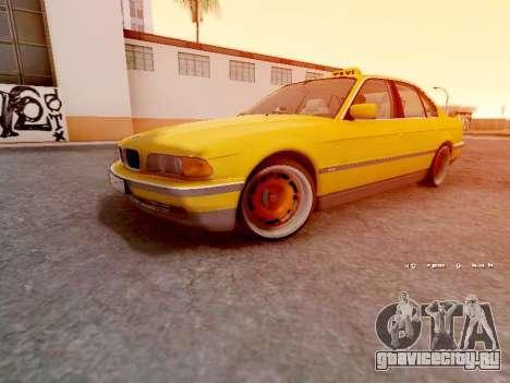 BMW 730i для GTA San Andreas вид слева
