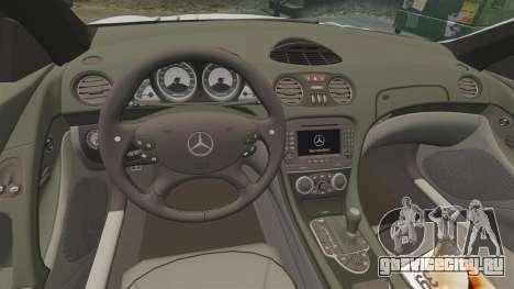 Mercedes-Benz SL65 AMG для GTA 4 вид изнутри