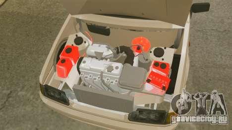 ВАЗ-2114 для GTA 4 вид сверху