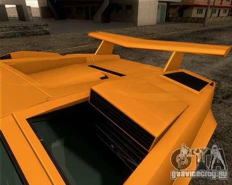 Lamborghini Countach LP500 Quattrovalvole 1988 для GTA San Andreas колёса