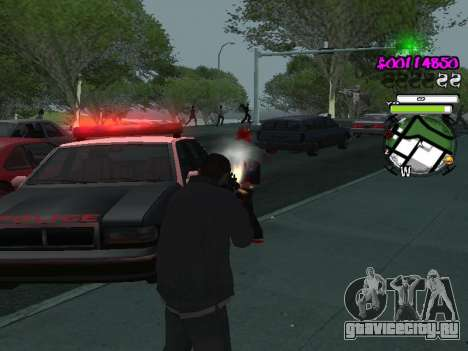 HUD для GTA San Andreas шестой скриншот