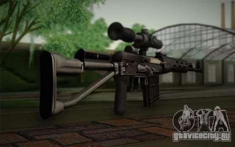7.62 Снайперская Винтовка Драгунова СВД-С для GTA San Andreas второй скриншот