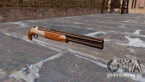 Двуствольное ружье для GTA 4
