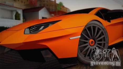 Lamborghini Aventador LP 700-4 RENM Tuning для GTA San Andreas вид сзади слева