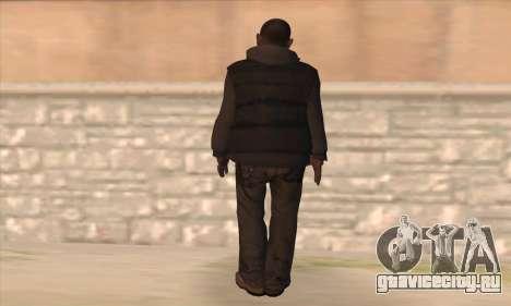 Кларенс из GTA IV для GTA San Andreas второй скриншот