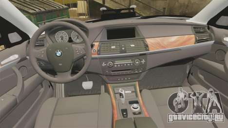 BMW X5 City Of London Police [ELS] для GTA 4 вид сбоку