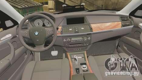 BMW X5 City Of London Police [ELS] для GTA 4 вид сбоку