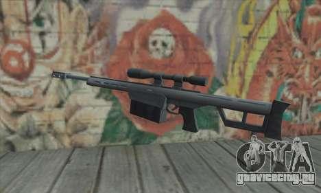 Снайперская винтовка из Saints Row 2 для GTA San Andreas второй скриншот