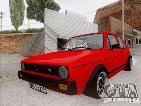 Volkswagen Golf GTI MK1 для GTA San Andreas