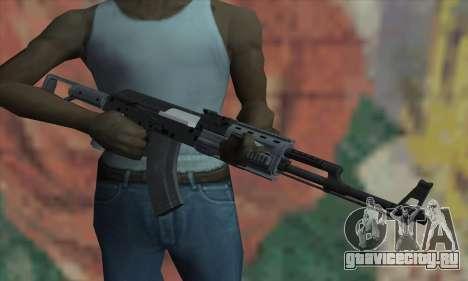 AK47 из GTA V для GTA San Andreas третий скриншот