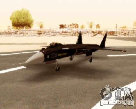 Су-47 Беркут v1.0 для GTA San Andreas вид слева