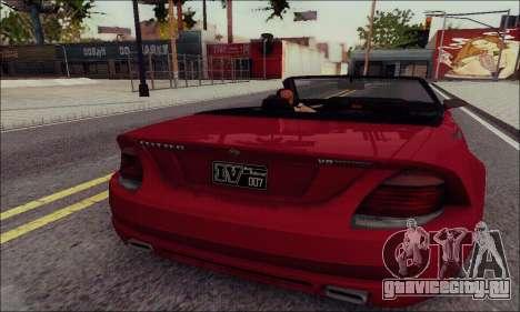 Feltzer из GTA IV для GTA San Andreas вид слева