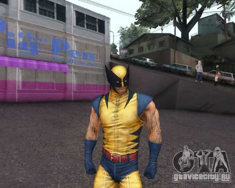 X-men Origins: Wolverine [Skins Pack] для GTA San Andreas седьмой скриншот