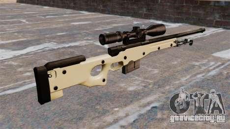 Снайперская винтовка AW L115A1 для GTA 4 второй скриншот