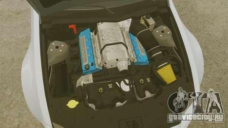 Ford Mustang GT 2013 NFS Edition для GTA 4 вид изнутри