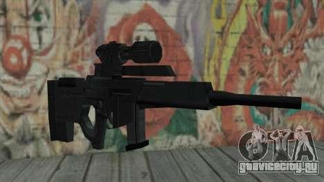 Снайперская винтовка из Resident Evil 4 для GTA San Andreas