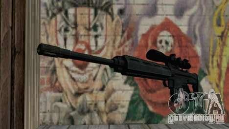 Снайперcкая винтовка Блек для GTA San Andreas
