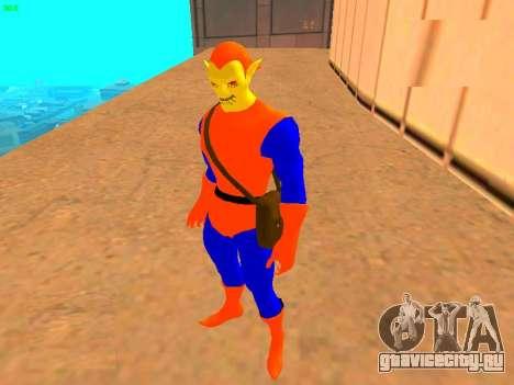 Хобгоблин из комикса для GTA San Andreas второй скриншот