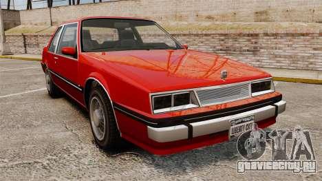 Willard Coupe для GTA 4