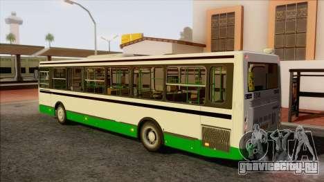 ЛиАЗ 5256.57 для GTA San Andreas вид слева
