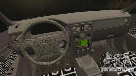 ВАЗ-2170 Lada Priora Turbo для GTA 4 вид сверху