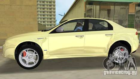 Alfa Romeo 159 ti для GTA Vice City вид слева