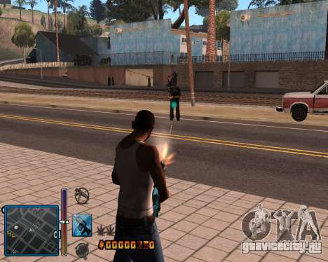 C-HUD by Mike Renaissance для GTA San Andreas
