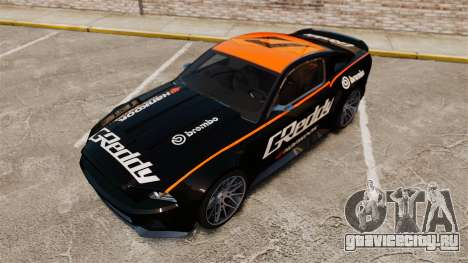 Ford Mustang GT 2013 NFS Edition для GTA 4 вид снизу