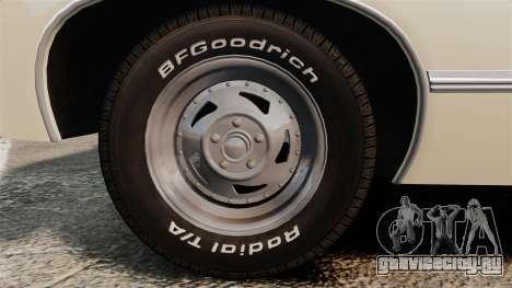 Chevrolet Impala 1967 для GTA 4 вид сзади