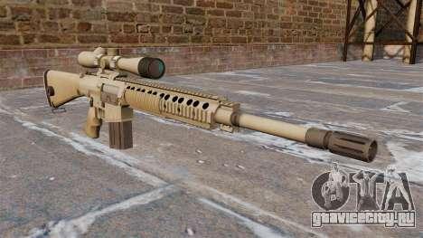 Снайперская винтовка M110 SASS для GTA 4